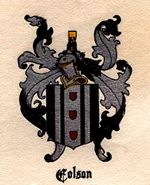 Colson coat of arms